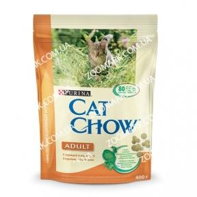 Cat Chow с курицей и индейкой