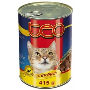 ТЕО курица Консервы для котов 415 г