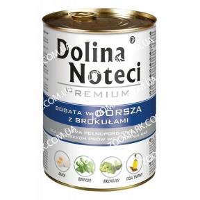 DN Premium Dog c треской и брокколи 400 гр
