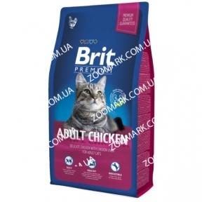 Brit Premium Cat Adult Chicken с курицей