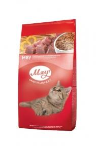МЯУ! с телятиной сухой корм для кошек