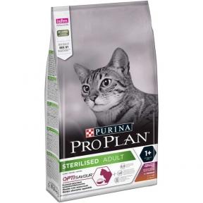 Про План сухой корм для кастрированных котов с уткой, печенью и рисом