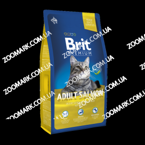 Brit Premium Cat Adult Salmon с с лососем