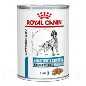 Royal Canin Sensitivity Control (Роял Канин Сенситивити контроль) Chicken Rice консервы для собак 420 г