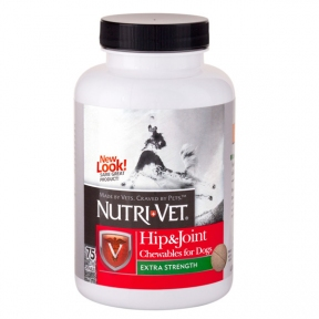 Nutri-Vet Связки и Суставы Экстра жевательные таблетки для собак 120 таб