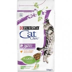 Cat Chow Special Care Hairball для выведения шерсти 1,5 кг