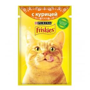 Алюпуч NEW консервы для кошек курица в подливе 85г