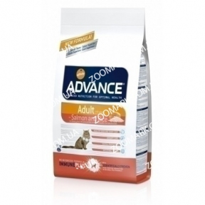 Advance Sensitive для котов (Лосось и рис) 15кг