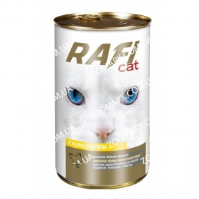 RafiCat кусочки курицы в соусе консервы для кошек 415 г