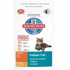 Корм Hills (Хилс) SP Feline Adult Indoor Cat для взрослых кошек живущих в помещении 0,3кг