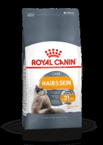 Royal Canin Hair & Skin 33 (Роял Канин Хеир энд Скин) для кошек с проблемной шерстью и чувствительной кожей