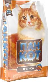Пан-Кот Курица сухой корм для кошек 10 кг
