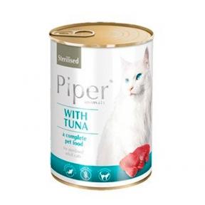 Dolina Noteci Piper cat Консерва с тунцом для стерилизованных кошек 400 г 302162