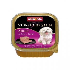 Animonda Vom Feinsten Classic  Индейка/Ягнёнок консервы для собак 150г