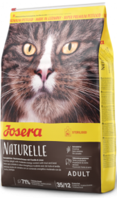 Josera Naturelle Sterilised 10кг - Беззерновой корм для стерилизованных кошек