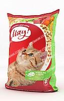 Мяу! Мясо, Рис и Овощи сухой корм для кошек 11 кг