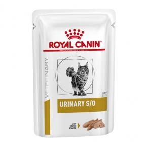 Royal Canin Urinary F SO Loaf pauch консервы для котов 85г