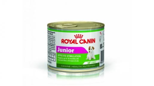 Royal Canin Junior (Роял Канин Юниор) консервы для щенков 195 г