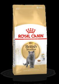 Royal Canin British Shorthair (Роял Канин) 34 для кошек породы Британская короткошерстная старше 12 месяцев