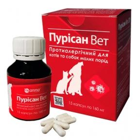 Пурисан Вет противоаллергенное средство для кошек и собак мелких пород