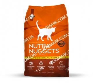 Nutra Nuggets Professional (оранжевая) сухой корм для котят и кошек