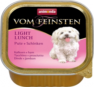 Animonda Vom Feinsten Индейка/Ветчина консервы для собак  150 г