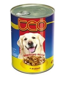 Консервы курица ТЕО для собак 415 г