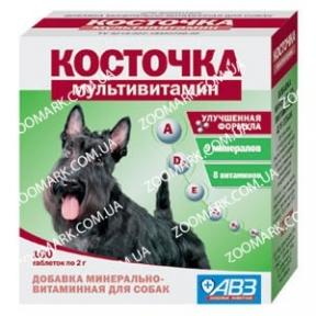 Косточка Мультивитамин — Минерально-витаминная добавка для собак