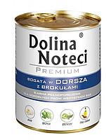 Dolina Noteci Premium Dog (65%) треска/брокколи Консервы 150 г