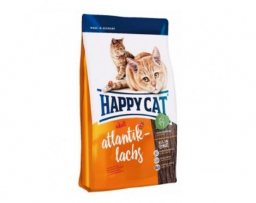 Happy cat Supremeкорм для котов Лосось,  300г