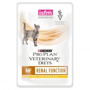 Purina Veterinary Diets NF Renal Function лечебные консервы для кошек при патологии почек, с курицей пауч 85 г