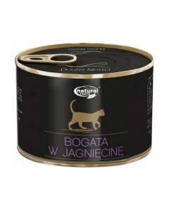 Dolina Noteci Natural Taste Cat мясные кусочки с ягненком Консервы для котов  185 г