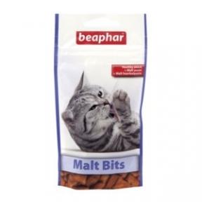 BITS Беафар Malt Bits Light  35гр для кошек (для выведения шерсти)