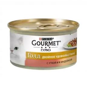 Gourmet Gold в соусе с уткой и индейкой