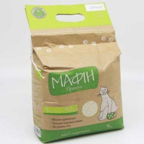 Наполнитель минеральный Мафин 5 л 4,5 кг