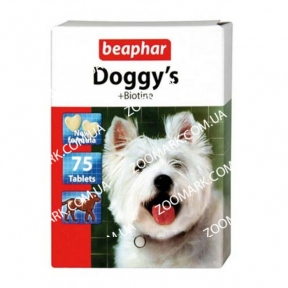 Doggys Biotin — Витаминизированное лакомство с биотином для собак
