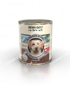 Bewi Dog Ягненок и Рис консервы для собак 0,8 кг