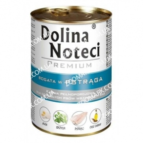 Dolina Noteci Premium Dog с форелью 400 гр