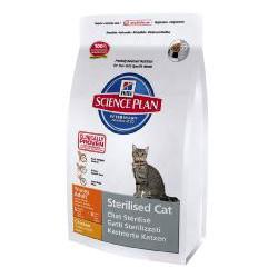 Корм Hills (Хилс) SP Feline Adult Young Sterilised Cat для стерилизованных кошек с курицей от 6 мес до 6 лет 0,300кг