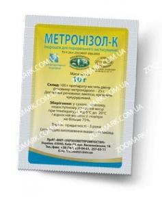 Метронизол-К 25% — противомикробное средство