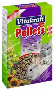 Корм для шиншилл PELLETS, Vitacraft