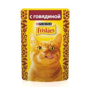 Алюпуч NEW консервы для кошек говядина в подливе 85г