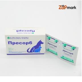 Пресорб — гидрогель метил кремниевой кислоты, 20 пакетиков по 10 гр