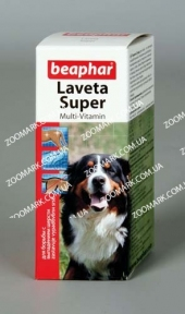 Laveta Super Beaphar (Лавета супер) — витамины для шерсти собак