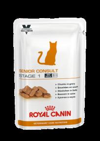 Royal Canin Senior Consult Stage1 (Роял Канин Сеньйор Консалт)  для кошек старше 7 лет, 100 г