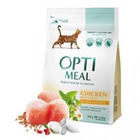 Optimeal с курицей для котов