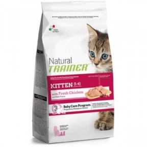 TRAINER NATURAL KITTEN для котят с курицей