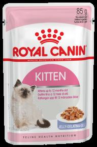 Royal Canin Kitten Intinctive jelly (Роял Канин Киттен Интенсив с желе) для котят с 4 до 12 месяцев