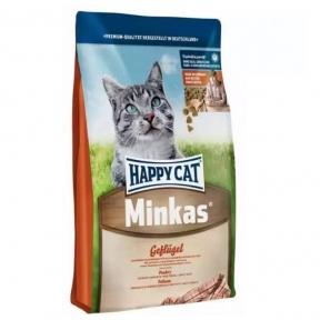 Happy cat корм Мінкас Курица