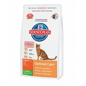 Корм Hills (Хилс) SP Feline Adult Optimal Care для взрослых кошек с кроликом
